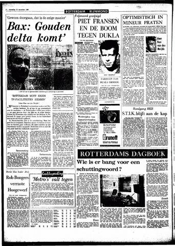 Rotterdamsch Parool / De Schiedammer 1966-11-23