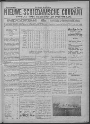 Nieuwe Schiedamsche Courant 1929-07-04