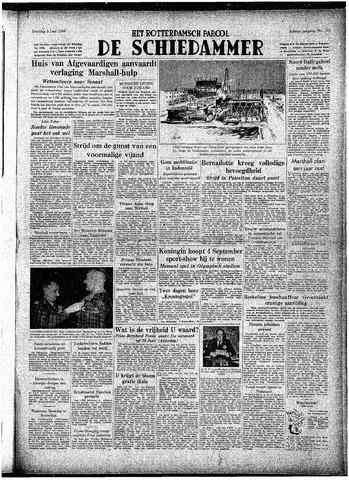 Rotterdamsch Parool / De Schiedammer 1948-06-05