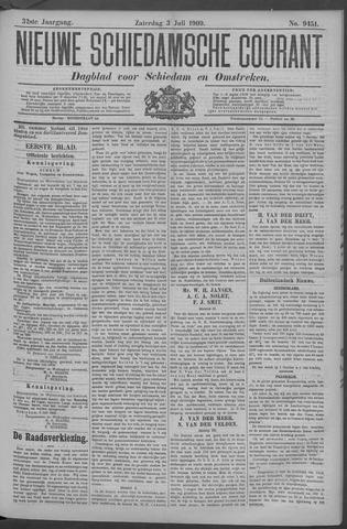 Nieuwe Schiedamsche Courant 1909-07-03