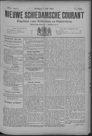 Nieuwe Schiedamsche Courant 1901-07-07