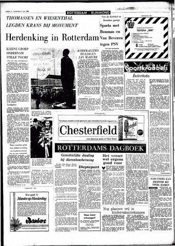 Rotterdamsch Parool / De Schiedammer 1966-05-05
