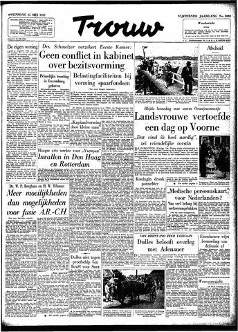 Trouw / De Rotterdammer 1957-05-15
