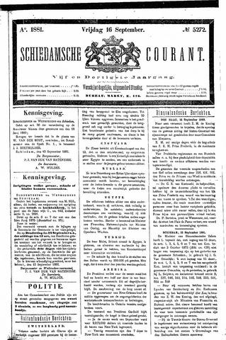 Schiedamsche Courant 1881-09-16