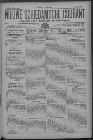 Nieuwe Schiedamsche Courant 1917-05-04