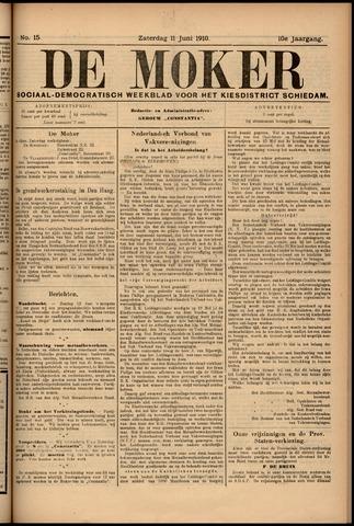 De Moker 1910-06-11