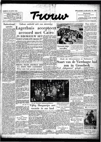 Trouw / De Rotterdammer 1954-07-30