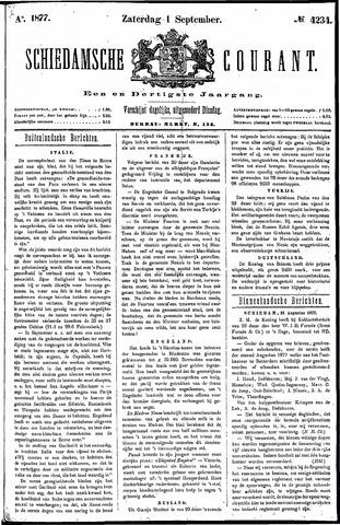 Schiedamsche Courant 1877-09-01