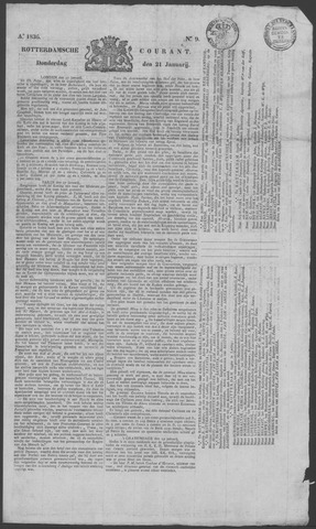 Rotterdamse Courant 1836-01-21