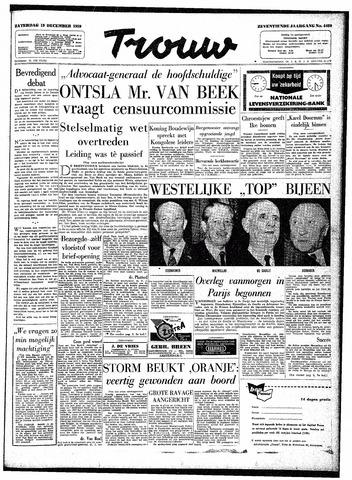 Trouw / De Rotterdammer 1959-12-19
