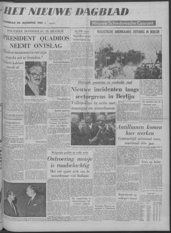 Nieuwe Schiedamsche Courant 1961-08-26