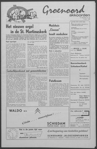 Groenoord Akkoorden 1969-03-06
