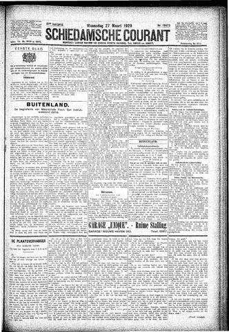 Schiedamsche Courant 1929-03-27