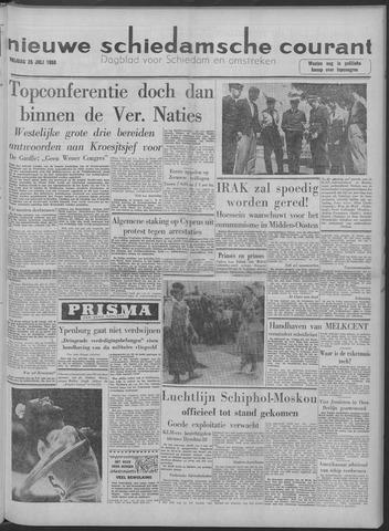 Nieuwe Schiedamsche Courant 1958-07-25
