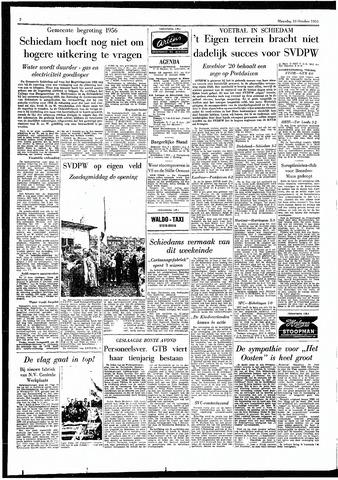 Rotterdamsch Parool / De Schiedammer 1955-10-10