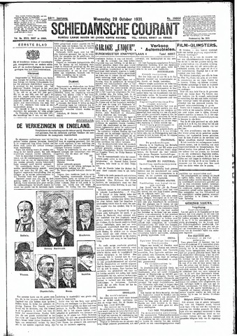 Schiedamsche Courant 1931-10-28