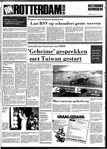 Rotterdamsch Nieuwsblad / Schiedamsche Courant / Rotterdams Dagblad / Waterweg / Algemeen Dagblad 1983-03-12