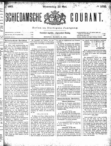 Schiedamsche Courant 1883-05-23