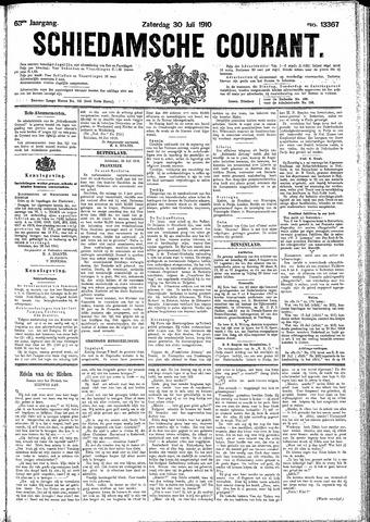 Schiedamsche Courant 1910-07-30