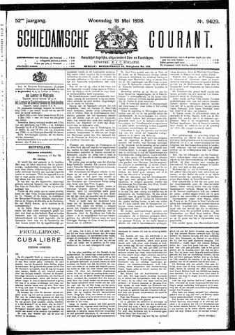 Schiedamsche Courant 1898-05-18