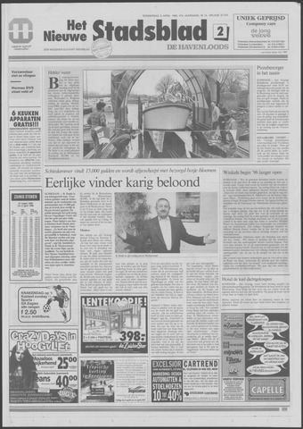 Het Nieuwe Stadsblad 1995-04-06