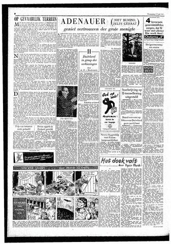 Rotterdamsch Parool / De Schiedammer 1957-07-17