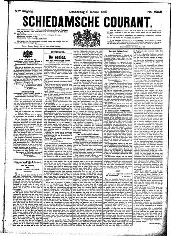 Schiedamsche Courant 1916-01-06
