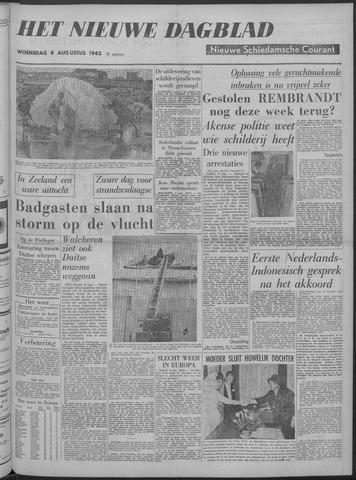 Nieuwe Schiedamsche Courant 1962-08-08