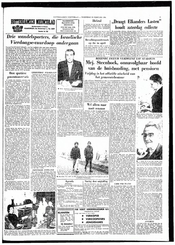 Rotterdamsch Nieuwsblad / Schiedamsche Courant / Rotterdams Dagblad / Waterweg / Algemeen Dagblad 1964-02-26