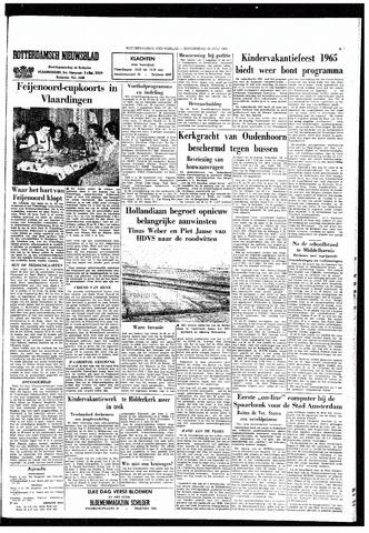 Rotterdamsch Nieuwsblad / Schiedamsche Courant / Rotterdams Dagblad / Waterweg / Algemeen Dagblad 1965-07-22