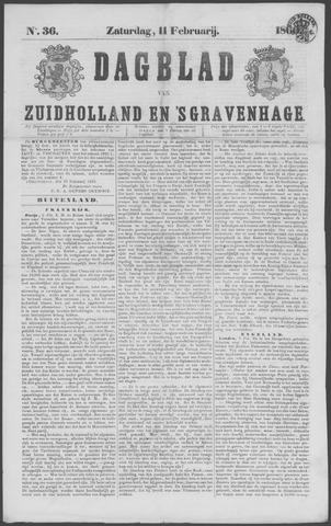 Dagblad van Zuid-Holland 1860-02-11