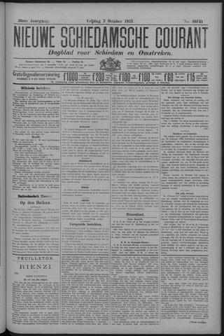 Nieuwe Schiedamsche Courant 1913-10-03
