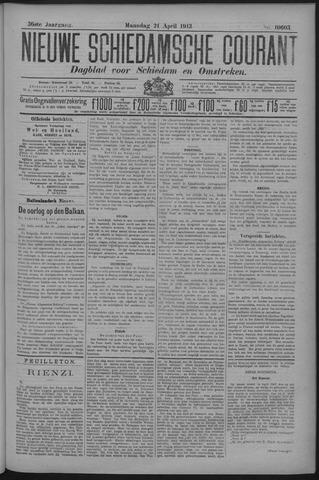 Nieuwe Schiedamsche Courant 1913-04-21