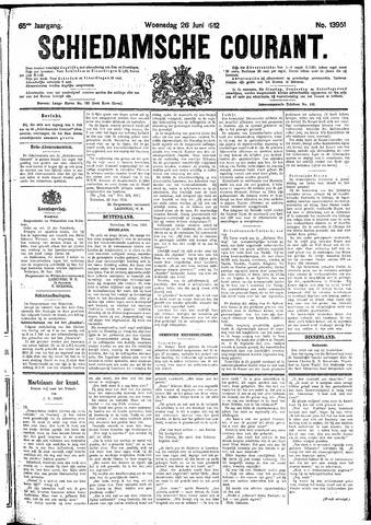 Schiedamsche Courant 1912-06-26