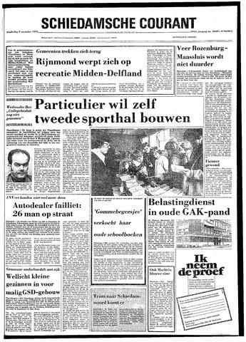 Rotterdamsch Nieuwsblad / Schiedamsche Courant / Rotterdams Dagblad / Waterweg / Algemeen Dagblad 1979-11-08