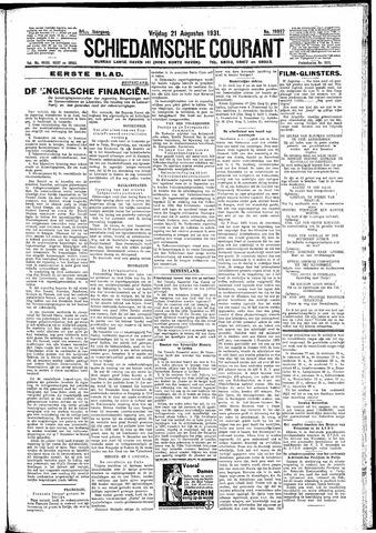 Schiedamsche Courant 1931-08-21