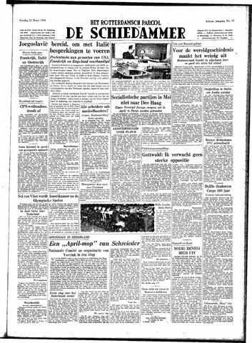 Rotterdamsch Parool / De Schiedammer 1948-03-23
