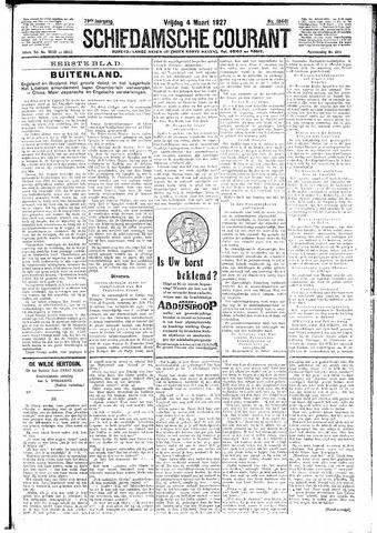 Schiedamsche Courant 1927-03-04