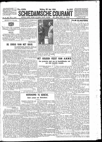 Schiedamsche Courant 1933-06-30