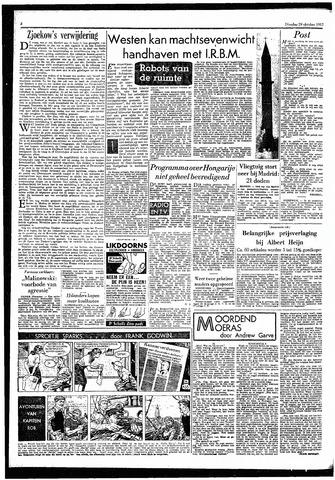Rotterdamsch Parool / De Schiedammer 1957-10-29