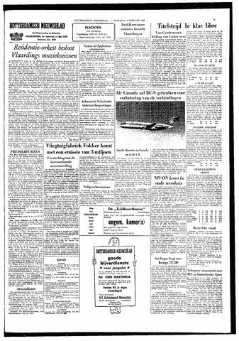 Rotterdamsch Nieuwsblad / Schiedamsche Courant / Rotterdams Dagblad / Waterweg / Algemeen Dagblad 1966-02-05