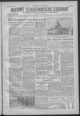 Nieuwe Schiedamsche Courant 1946-10-24