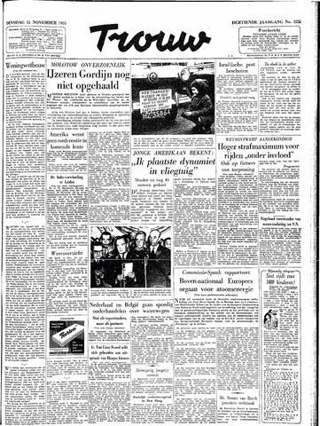 Trouw / De Rotterdammer 1955-11-15