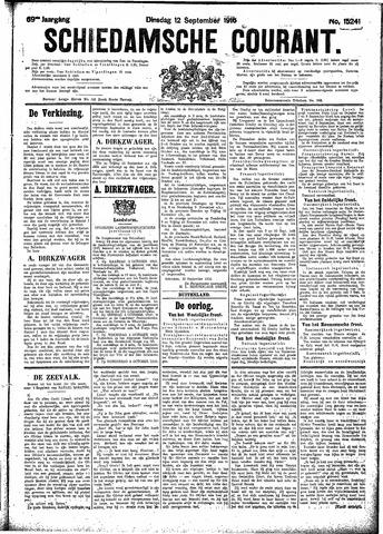 Schiedamsche Courant 1916-09-12