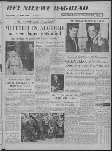 Nieuwe Schiedamsche Courant 1961-04-26