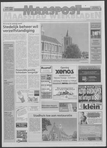 Maaspost / Maasstad / Maasstad Pers 1999-10-20