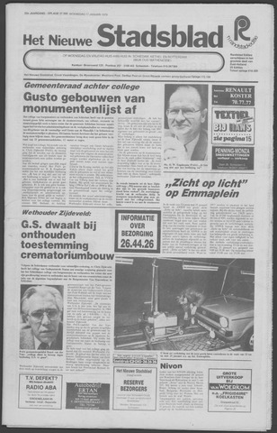 Het Nieuwe Stadsblad 1979-01-17