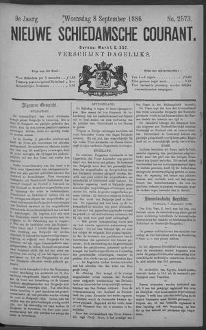 Nieuwe Schiedamsche Courant 1886-09-08