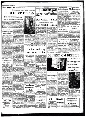 Rotterdamsch Parool / De Schiedammer 1963-09-04
