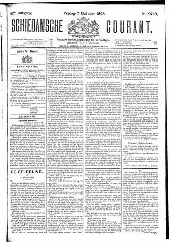 Schiedamsche Courant 1898-10-07